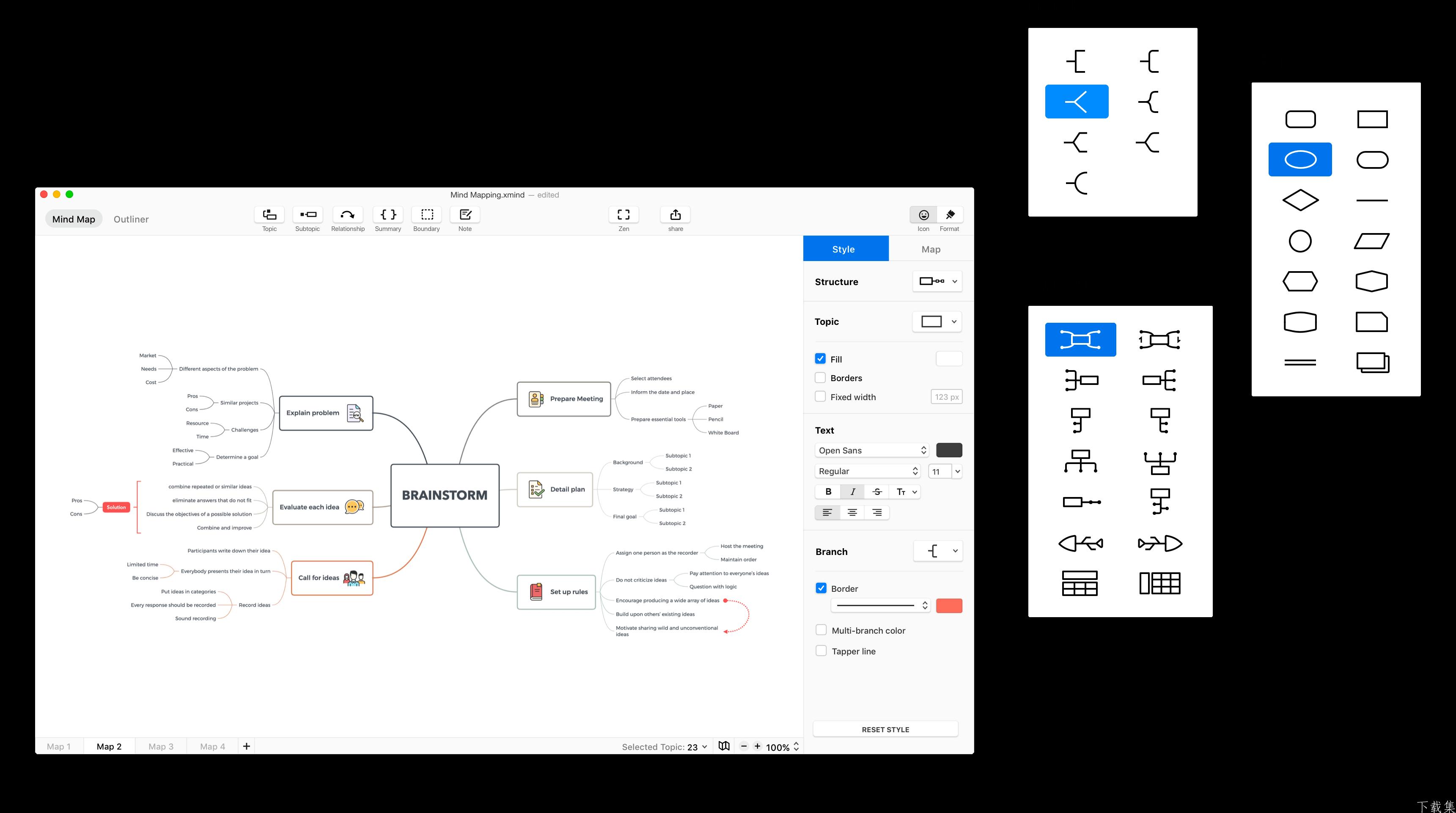 思维导图 XMind ZEN v10.0.0 中文破解版