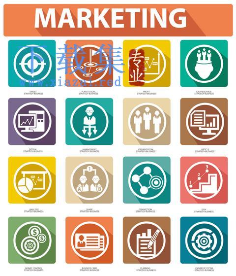 创意营销图标EPS矢量素材  第1张