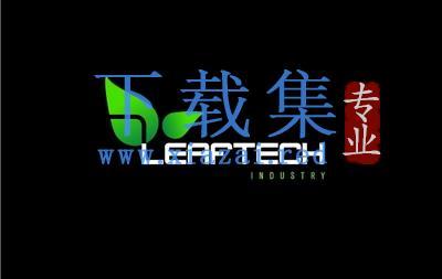 高科技绿色叶子LOGO标志AI矢量设计素材