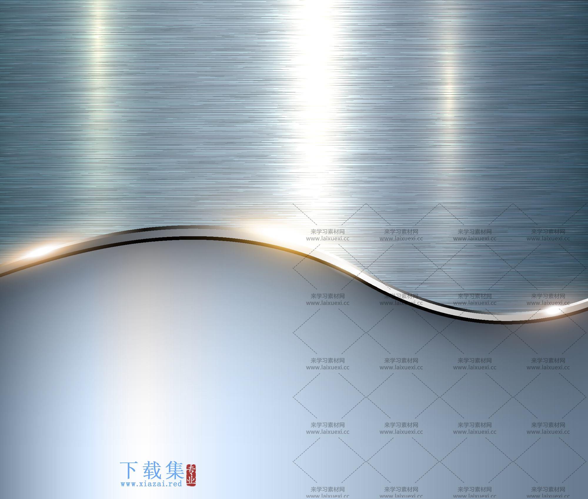 金属质感的背景矢量素材