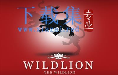 WildLion狮子剪影LOGO标志AI矢量素材