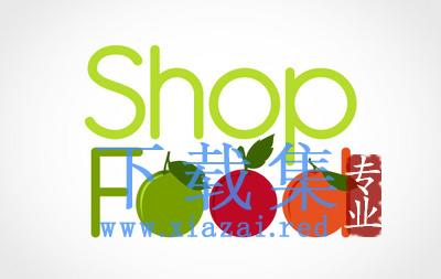 食品店、水果店的LOGO标志EPS矢量素材  第1张