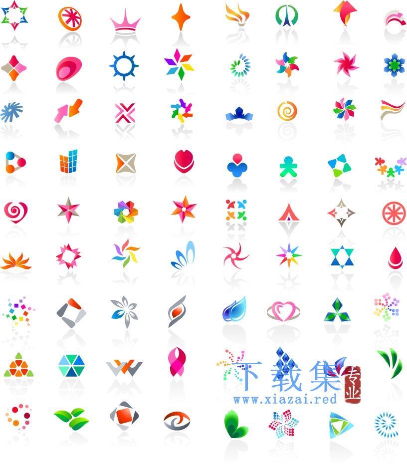 web2.0风格图标模板EPS矢量素材  第1张