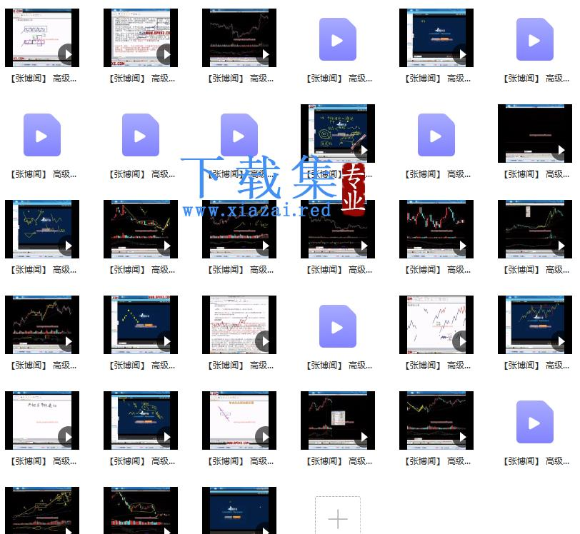 张博闻缠论一期高级课视频课程33集