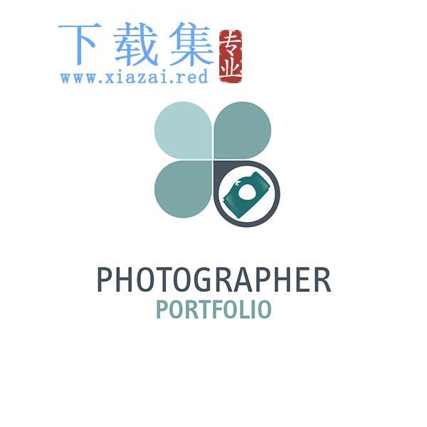 专业摄影师LOGO标志EPS矢量模板  第1张