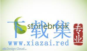 Stonebrook绿色叶子LOGO标志EPS矢量素材  第1张