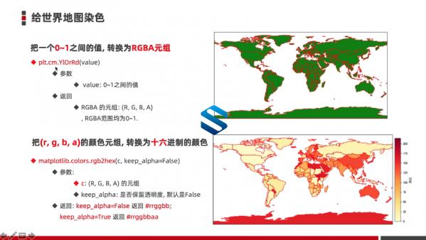 打造疫情大数据地图!数据分析与数据可视化利器-Matplotlib项目实战视频教程