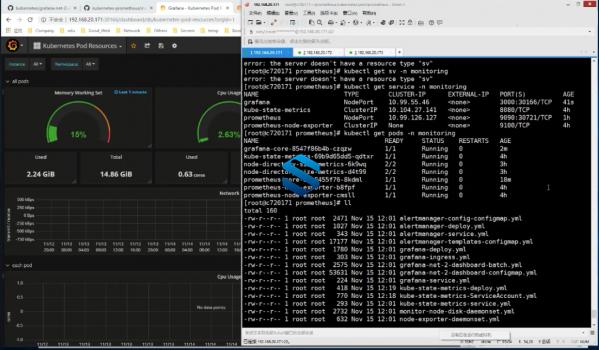 Prometheus企业级运维自动监控平台 K8s部署Grafana AlertManager自动化监控报警平台  第3张