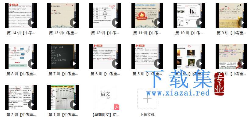【2021暑假】初二升初三语文阅读写作直播班14讲 魏桂双  第1张