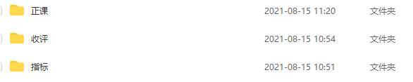 量学云讲堂 智量客王晓利第2期  30视频+3指标 2021年