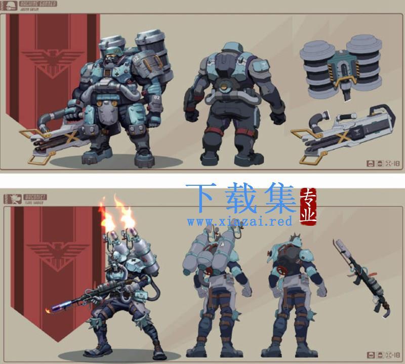 斯文怪兽WILL ART机甲角色概念设计课【画质高清】  第2张
