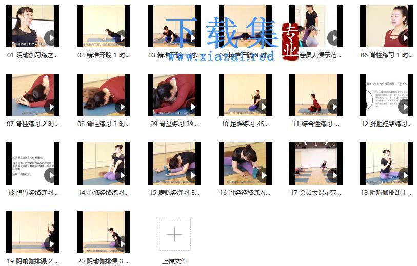 景瑶阴瑜伽初级精进教培20课