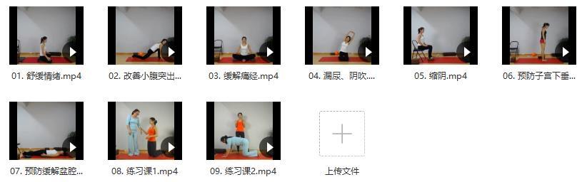 王媚-女性私密瑜伽之盆底肌修复系列 9课