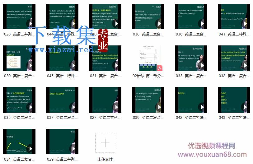 新东方:田静核心语法及长难句英语一、英语二课程  第2张