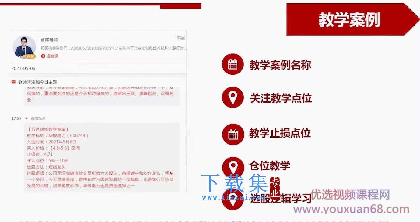 魏春阳老师 2021《机构交易密码》盘中文字直播+盘后视频教学