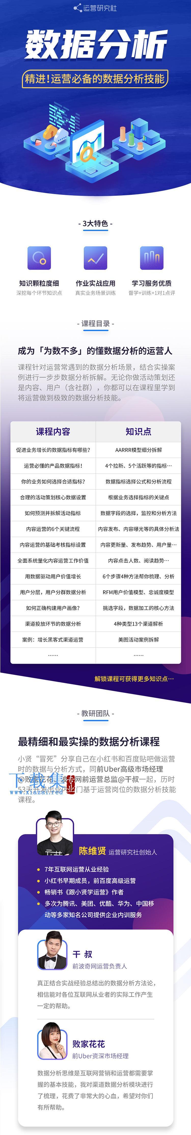 陈维贤运营必备的数据分析技能