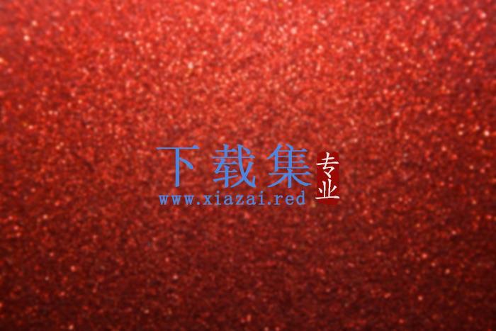 两张红色磨砂质感PPT背景图片