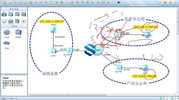 IA网络安全挑战HCIE-Security级别超纲内容 华为下一代防火墙技术+NAT+GREVPN+策略案例