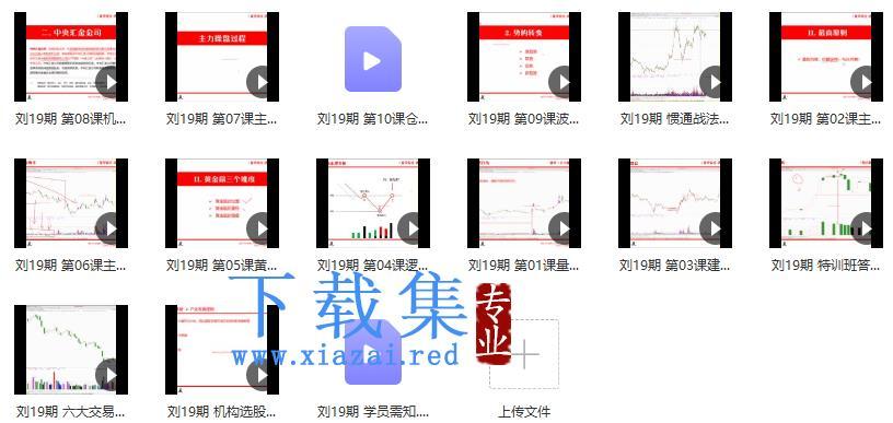 量学云讲堂刘智辉《量学识庄·伏击涨停》19期