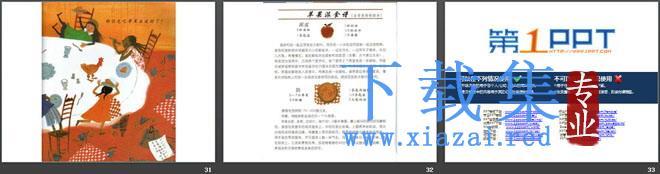 《环游世界做苹果派》绘本故事PPT  第7张
