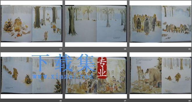 《雪地里的圣诞树》绘本故事PPT  第4张
