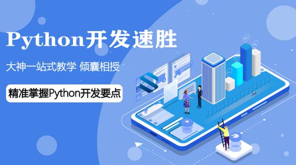 企业级Python开发速胜班 大神一站式Python教学 精准掌握Python开发要点